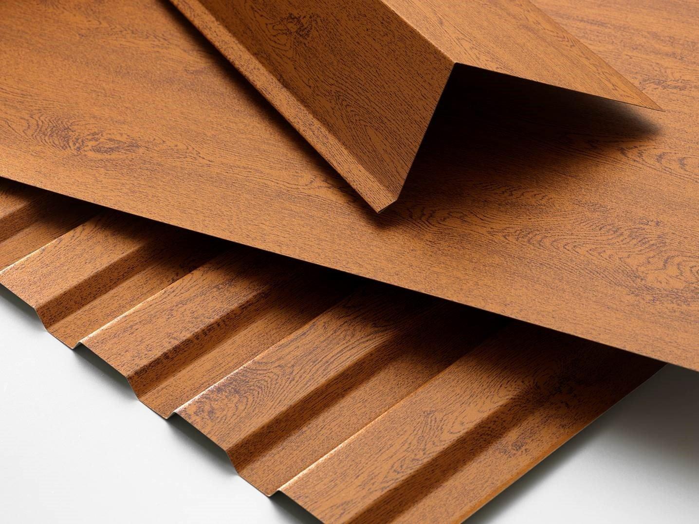 Profile und Kantteile in Holzdekor Eiche