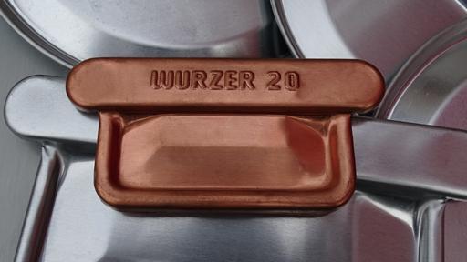 Rinnenboden Kasten - Wulst / Falz 200